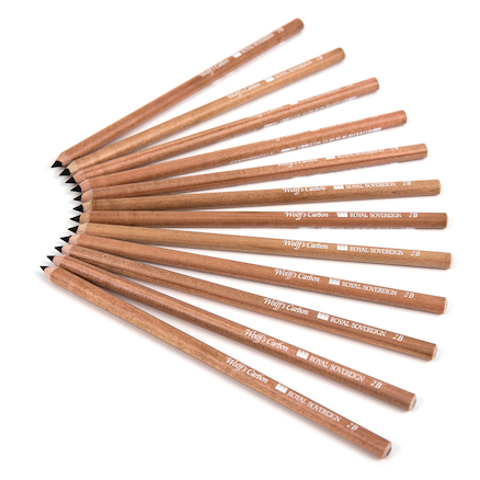 Carbon Medium Pencils 12pk  large