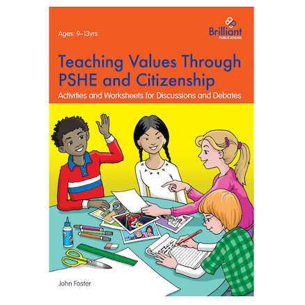 Teaching Values through PSHE and Citizenship  large