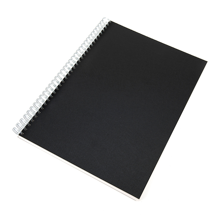 140gsm Hardback Spiral Sketchbook A4  large