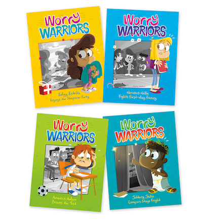 Worry Warriors Book Pack  large