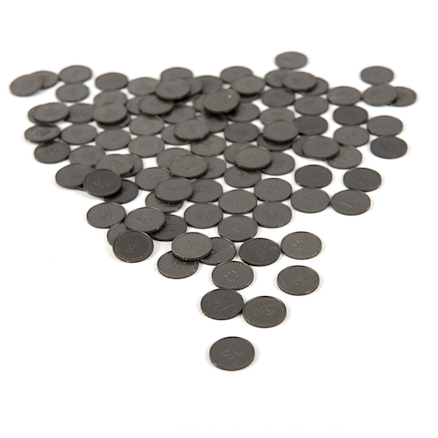 Five Pence Coin 100pcs  large