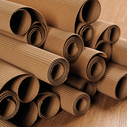 Double Sided Brown Corrugated Rolls 50 x 70cm 15pk  large