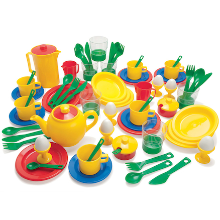 Plastic Role Play Kitchen Set 78pcs  large