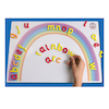 Magnetic Double Sided Letter Rainbow Arc A3  small