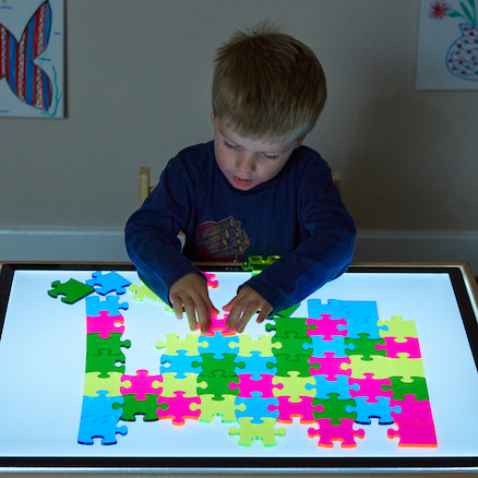 Buy Lightbox Acrylic Jigsaw 56pcs Tts