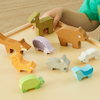 Wooden Stacking Animals  small