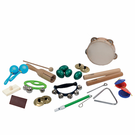Beginners Percussion Instruments Pack  large