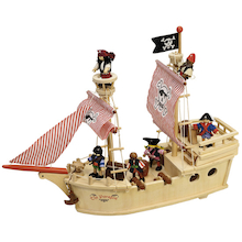 Small World Pirate Ship and Accessories  medium