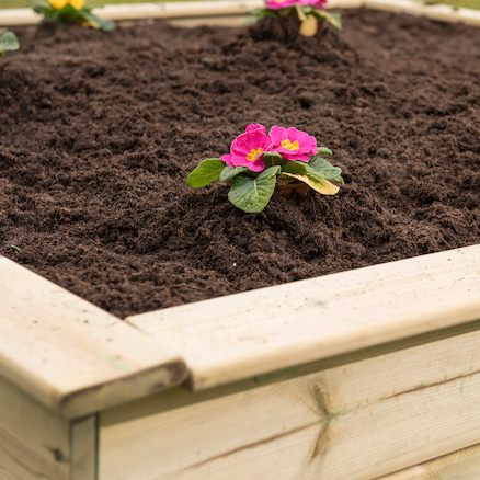 Wooden Sand Boxes and Planters  large