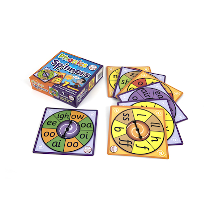 Phases 2\x263 Phonics Spinners  large