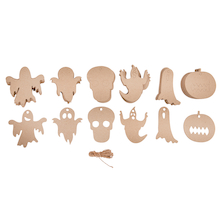 Halloween Decorating Cut Out Shapes 60pk  medium