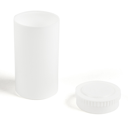Small Opaque Pots With Lids 50pk  large