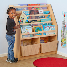 Room Scenes Book Display Storage Unit  medium
