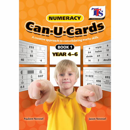 Numeracy Can U Cards  large