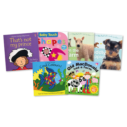Touch and Feel Baby Books 6pk  large