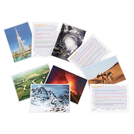 Thinking...Physical and Human Geography Cards  large