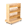 Wooden Indoor Wellie Rack  small