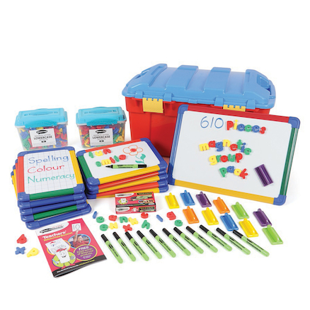 Magnetic letters and boards class bumper pack  large