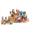 Small World Plastic Block Diversity People  small