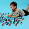 Small World Die Cast Car Set 48pcs  small