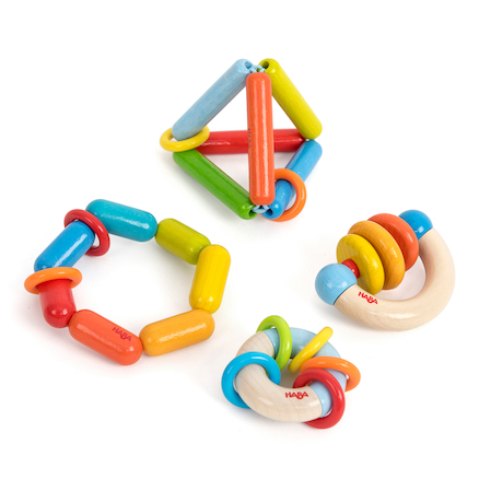 Wooden Grasping Toys Set 1 4pk  large