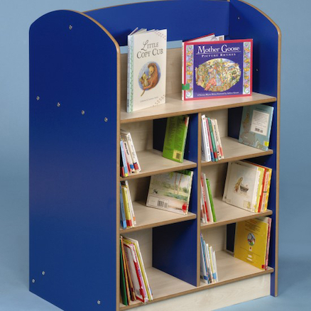 Double Sided Bookcase H1200mm  large