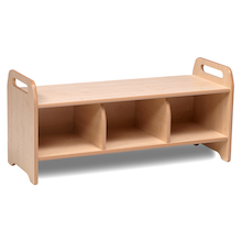 Playscapes Cloakroom Storage Bench Large  medium