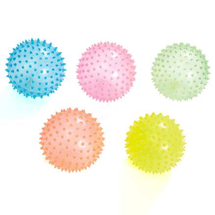 Light Spiky Crystal Balls 5pk  large