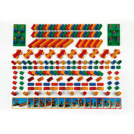 Magnetic Brick Construction  large