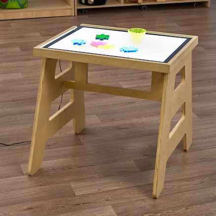 Folding Light Panel Table  large