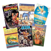 KS2 Myths and Legend Books 6pk  medium