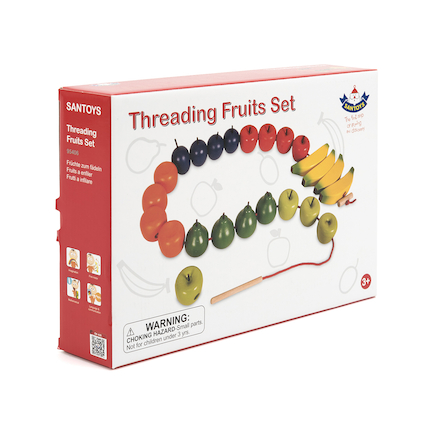 Wooden Threading Fruits  large
