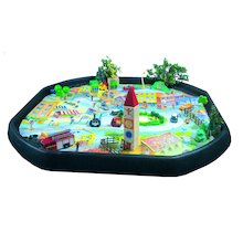 Active World Tuff Tray Town Scene Mat  medium