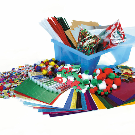Assorted Christmas Craft Tray  large