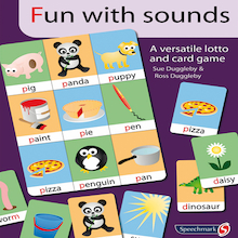 Fun With Sounds Speech Development Card Game  medium