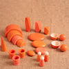 Shades of Orange Wooden Tonal Collection  small