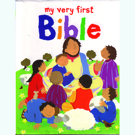 Illustrated Very First Childrens Bible  large
