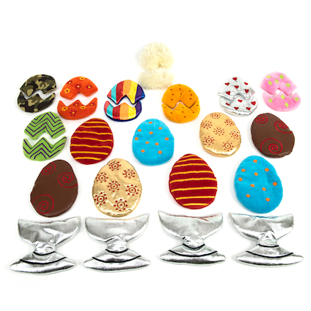Sort and Match Fabric Egg Collection  large