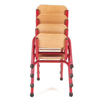 Copenhagen Classroom Chair 310mm Red  large