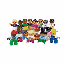 DUPLO LEGO Plastic World People Set 16pcs  medium
