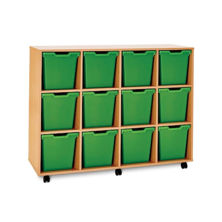 Pop Storage 12 Jumbo trays  large