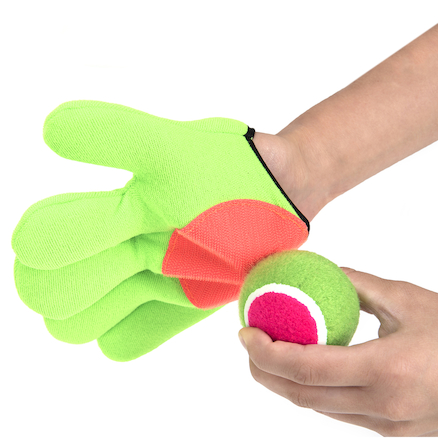 Sticky Monster Mitts Gloves and Ball  large