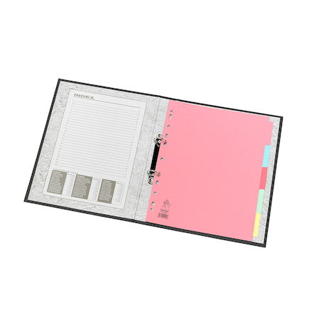 A4 Manilla File Dividers 5 Part  large