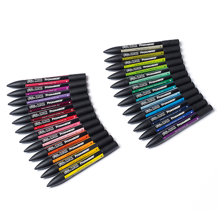 Winsor \x26 Newton Assorted Promarkers  large