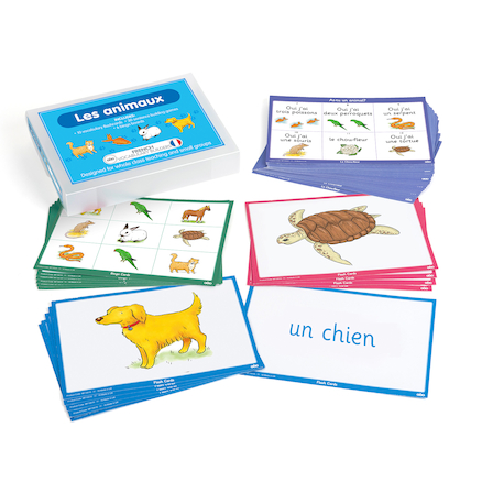 French Vocabulary Builders \- Animals  large