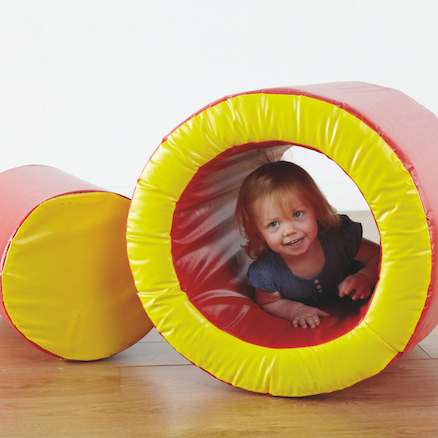 Soft Play Roley Poley Circular Block and Ring  large
