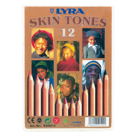 Lyra Flesh Tones Colouring Pencils 12pk  large