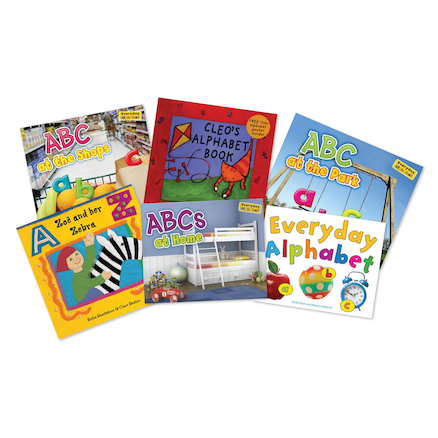 Learn The Alphabet Book Pack  large