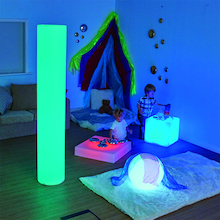 Sensory Colour Changing Light Cube Table   medium