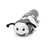 Black and White Bolster Cushions 2pk  small